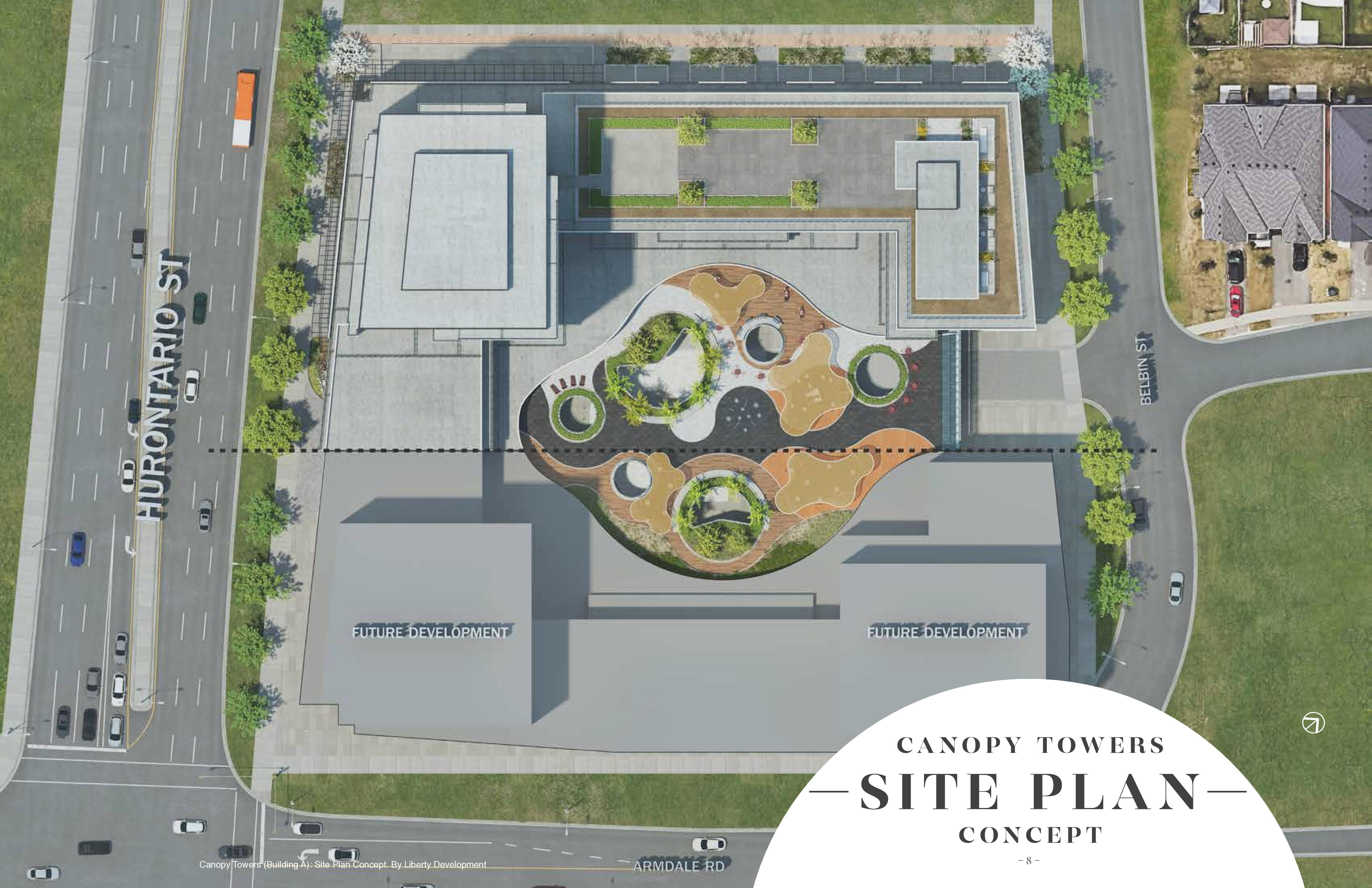 Canopy towers location