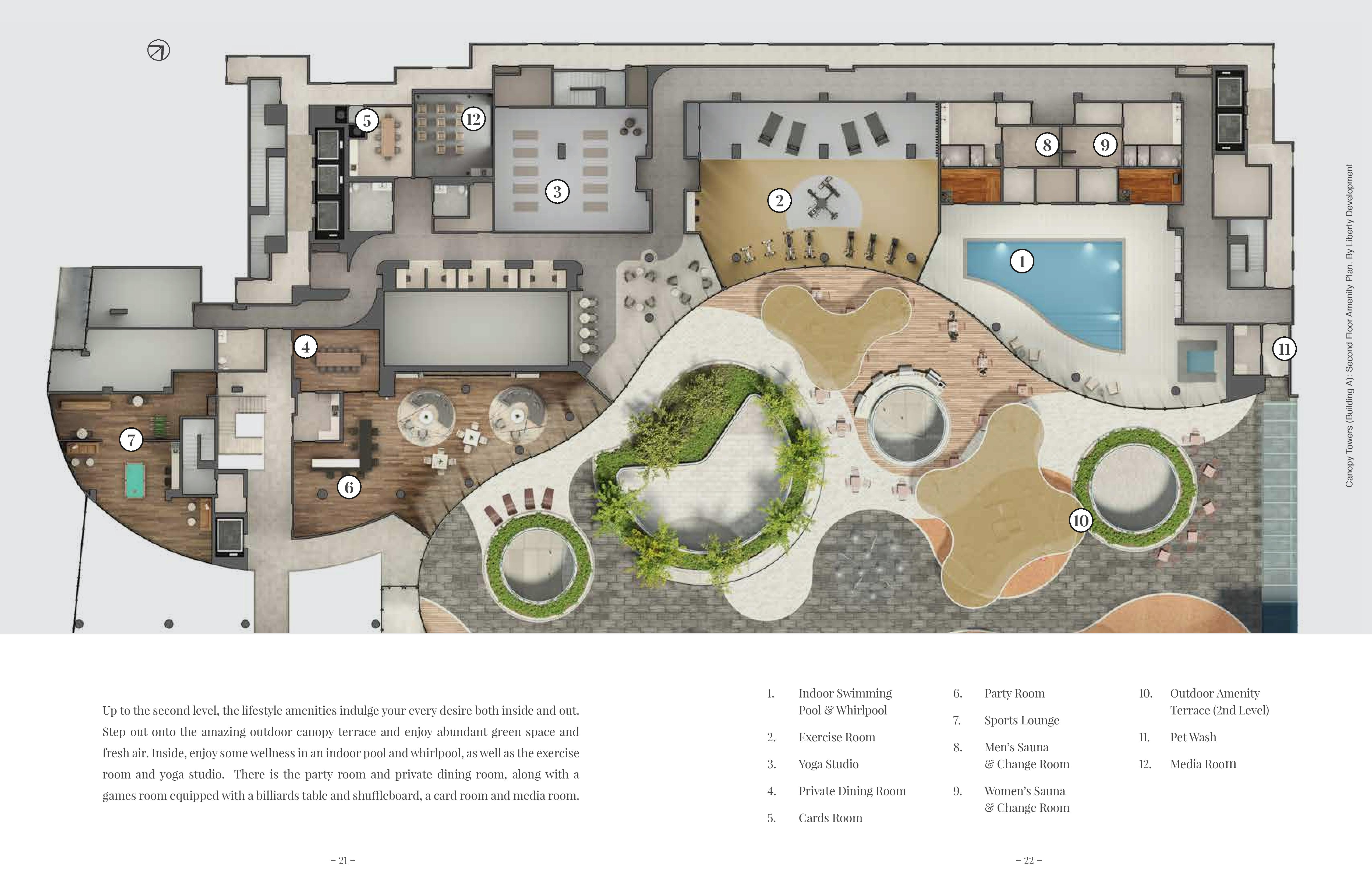 Canopy Towers Amenities