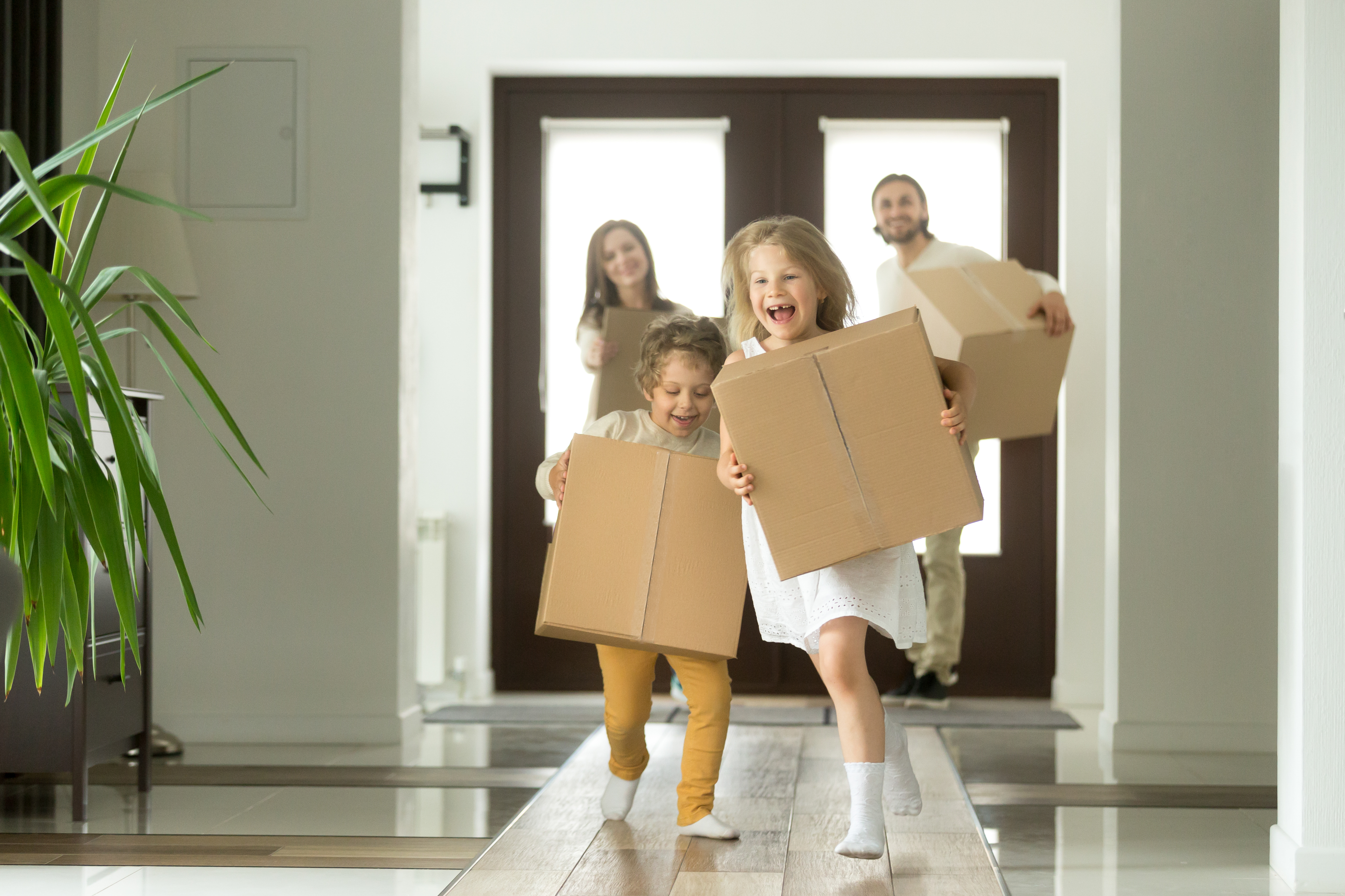 Buying or selling a home handshake
